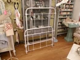 antique rod iron bed home decor 3827