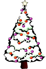 clipartist net clip art xmas christmas tree 100 black white
