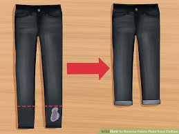 remove clothes 3 ways to remove fabric paint from clothes wikihow