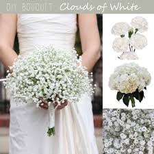diy bouquet diy bouquet white cloud baby s breath bouquet fiftyflowers the