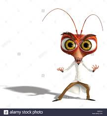dr cockroach phd monsters aliens 2009 stock photo royalty