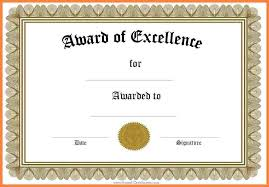 free award certificate templates for word certificates officecom
