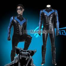 Batman Costume Halloween Aliexpress Buy Batman Costume Arkham Nightwing