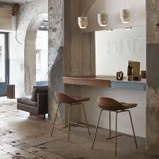furniture elegant spindle bar stool low back on wood flooring and