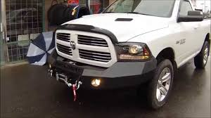 2014 dodge ram 1500 bumper iron cross bumper and warn winch dodge ram 1500 at dales auto