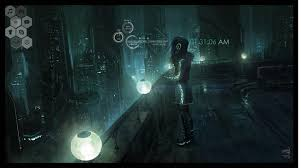 futuristic style for my first theme ever rainmeter