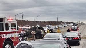 Sigalert San Diego Map by Military Vehicle Crashes On I 5 Near Camp Pendleton Nbc 7 San Diego