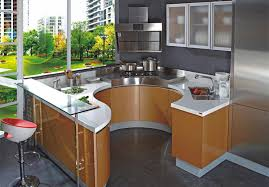 style modern flat pack kitchen ready made kitchen cabinets high