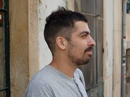 side view of blended wedge haircut ultra cool unique asymmetric men s short cut hairstyles weekly