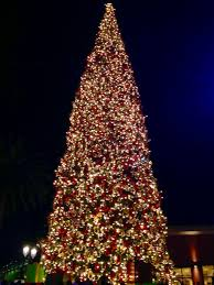 fashion island annual tree lighting 2016