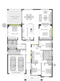milano four 16m floor plan houses upward slope design