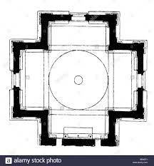 architecture floor plans santa maria delle carceri prato built