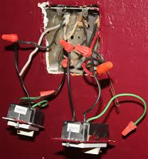 electrical how do i wire these dimmer switches the current