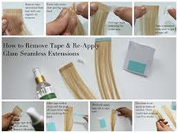 Red Tape Hair Extensions by Learn The Methods Used For Tape In Hair Extensions On Line