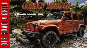 2018 jeep wrangler 2018 jeep wrangler jl 2018 leaked images u0026 everything you