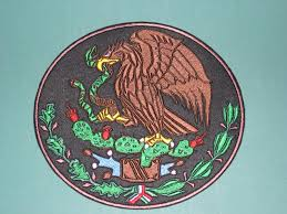 Mexican Flag Eagle Mexico Coat Of Arms Crest Flag Mexican Biker And 29 Similar Items