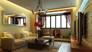 3d rendering sofa brick wall living room interior design