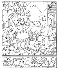 free printable hidden pictures for toddlers strange hidden pictures printable free object puzzles for kids 6170