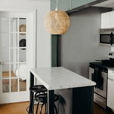 how to deal with a small kitchen apartment paint refresh small kitchen island makeover