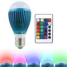 light bulbs that gradually get brighter hitlights blue moon multi color 9w rgb changing led globe light bulb