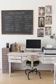 idee deco bureau déco un bureau vintage de récupération avec une ardoise