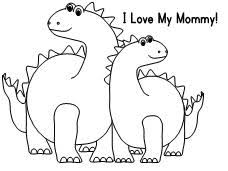 mother s day coloring sheet
