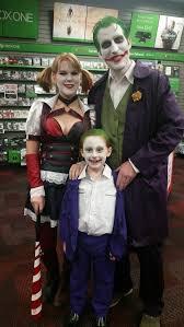 Joker Halloween Costume Kids Harley Quinn Joker Family Halloween Halloween