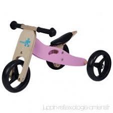 vélo avec siège bébé labebe vélo fille 2 en 1 draisienne bois avec siège réglable