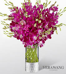 fds flowers ftd orchid bouquet by vera wang at pesches flowers desplaines il