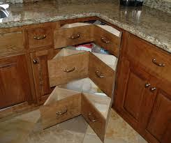 Inside Corner Drawers - Kitchen cabinets corner drawers