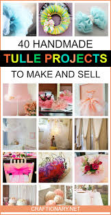 crafts to make with tulle wordblab co