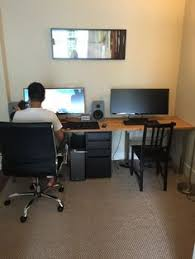 Office Desk For Two Two Person Desk Design Ideas For Your Home Office Trestle Legs