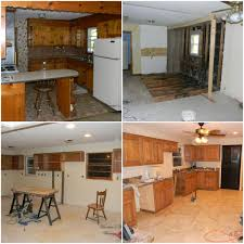 how paint your kitchen cabinets one weekend remodelaholic boy buys fixer upper guts entire kitchen have oak cabinets built and improves drastically impress girl you can see the full before