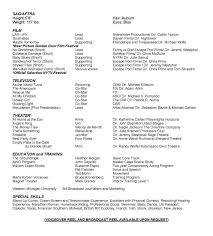 theatre resume example special skills resume examples list personal talents acting resume list of skills and talents for acting resume acting resume special skills resume sample
