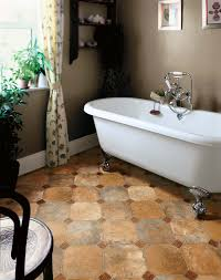 asbestos vinyl sheet flooring for old and vintage small bathroom
