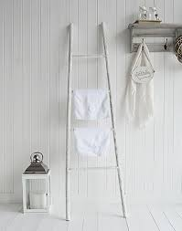 White Wooden Decorative Ladder From The White Lighthouse