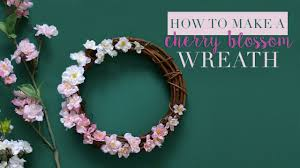 diy spring wreath youtube