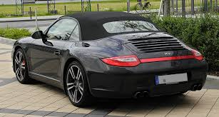black porsche convertible file porsche 911 cabriolet black edition 997 facelift