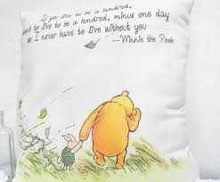 Classic Winnie The Pooh Nursery Decor Winnie The Pooh Pillow Live To Be 100 Classic Winnie The Pooh