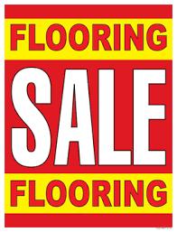 retail sale signs posters 22 x28 flooring sale flooring