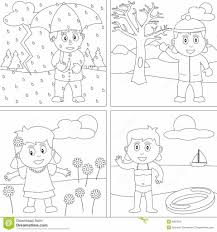 coloring pages free coloring pages of summer seasons for kids