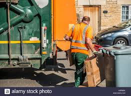 Kitchener Garbage Collection Recycling Truck Uk Stock Photos U0026 Recycling Truck Uk Stock Images