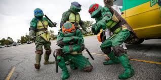 master splinter halloween costume what u0027s the deal with that ninja turtles van driving around town