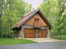 Craftsman Style Garage Hillside Garage Apartment Plans Rustic