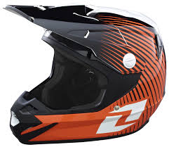 orange motocross helmet one industries atom phantom helmet revzilla