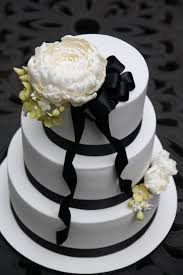 sugar creation sam and dave u0027s wedding cake black and white chic