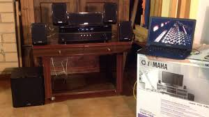 yamaha home theater yamaha yht 196 home theatre system youtube