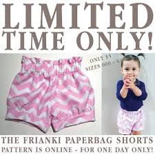 paper bag toddler shorts pattern frianki home facebook