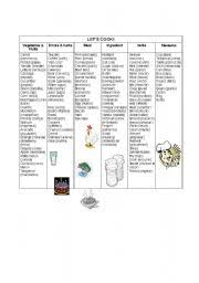 english worksheets the food worksheets page 426