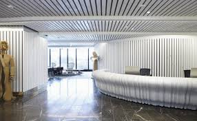 Wood Slat Ceiling System by Timber Slat Ceiling Slatted Ceilings Vtec Group
